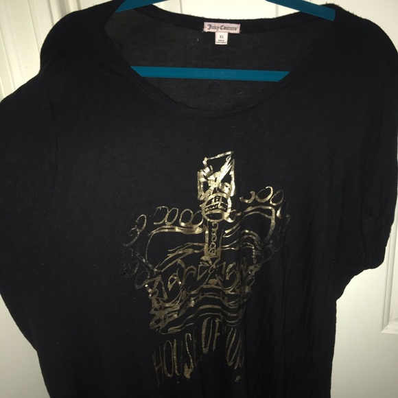 Juicy Couture Tops - Juicy Couture- VERY SOFT GRAPHIC TEE